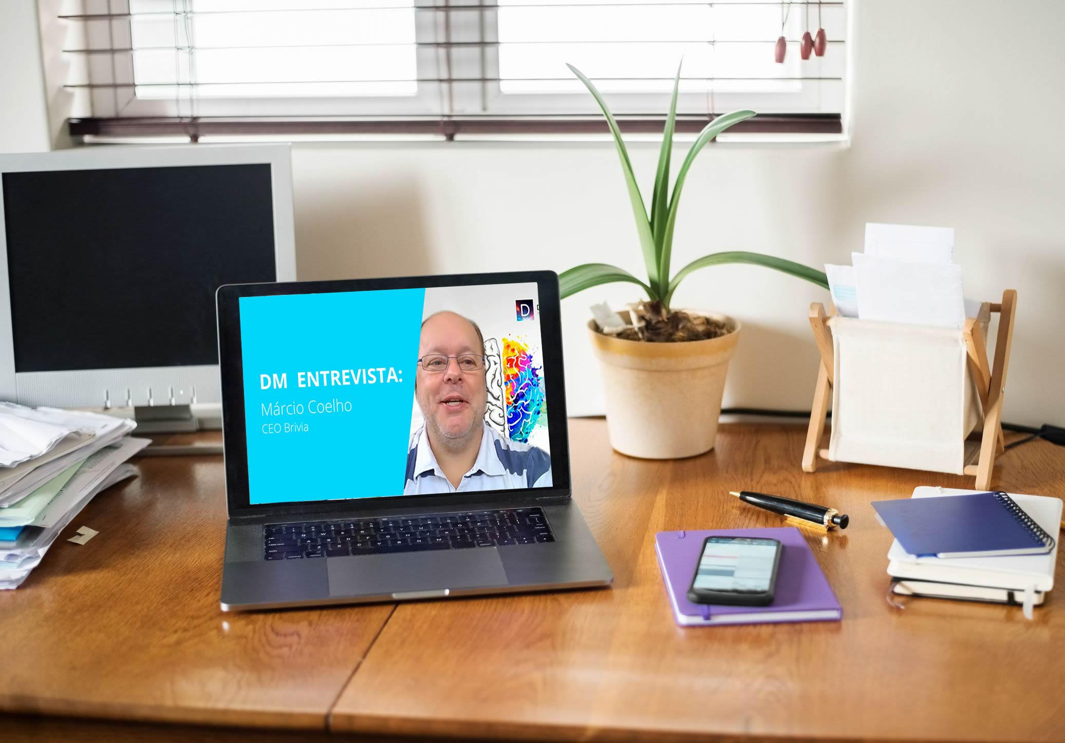 DM Entrevista: Márcio Coelho – CEO Brivia